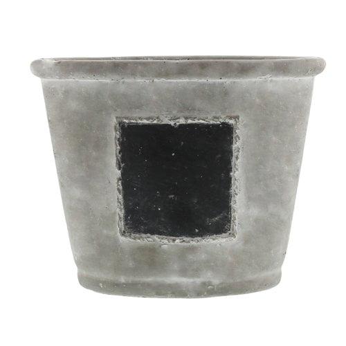 Fleur De Lis Living Colwyn Chalkboard Cachepot Planter Box by