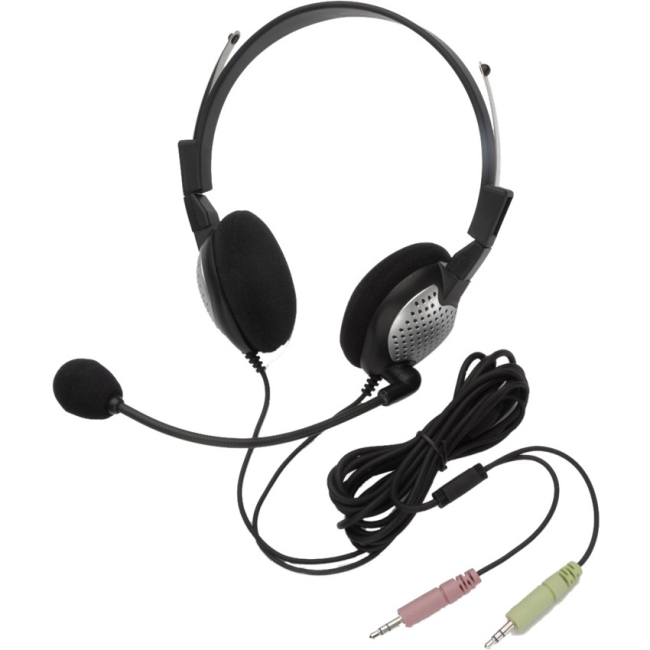 Andrea NC-185 High Fidelity Stereo PC Headset - Stereo - Wired - Over-the-head - Binaural - Circumaural - Noise Cancelli