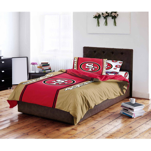 NFL San Francisco 49ers Bed in a Bag Complete Bedding Set