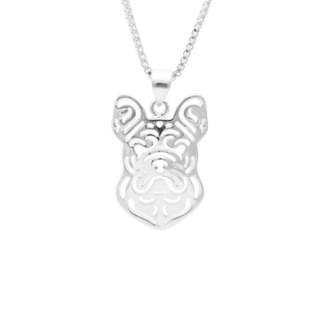 Gorgeous French Bulldog Pendant and 20
