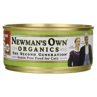 Newman's Own Organics - The Second Generation Canned Cat Food Chicken & Liver Dinner - 5.5 oz.