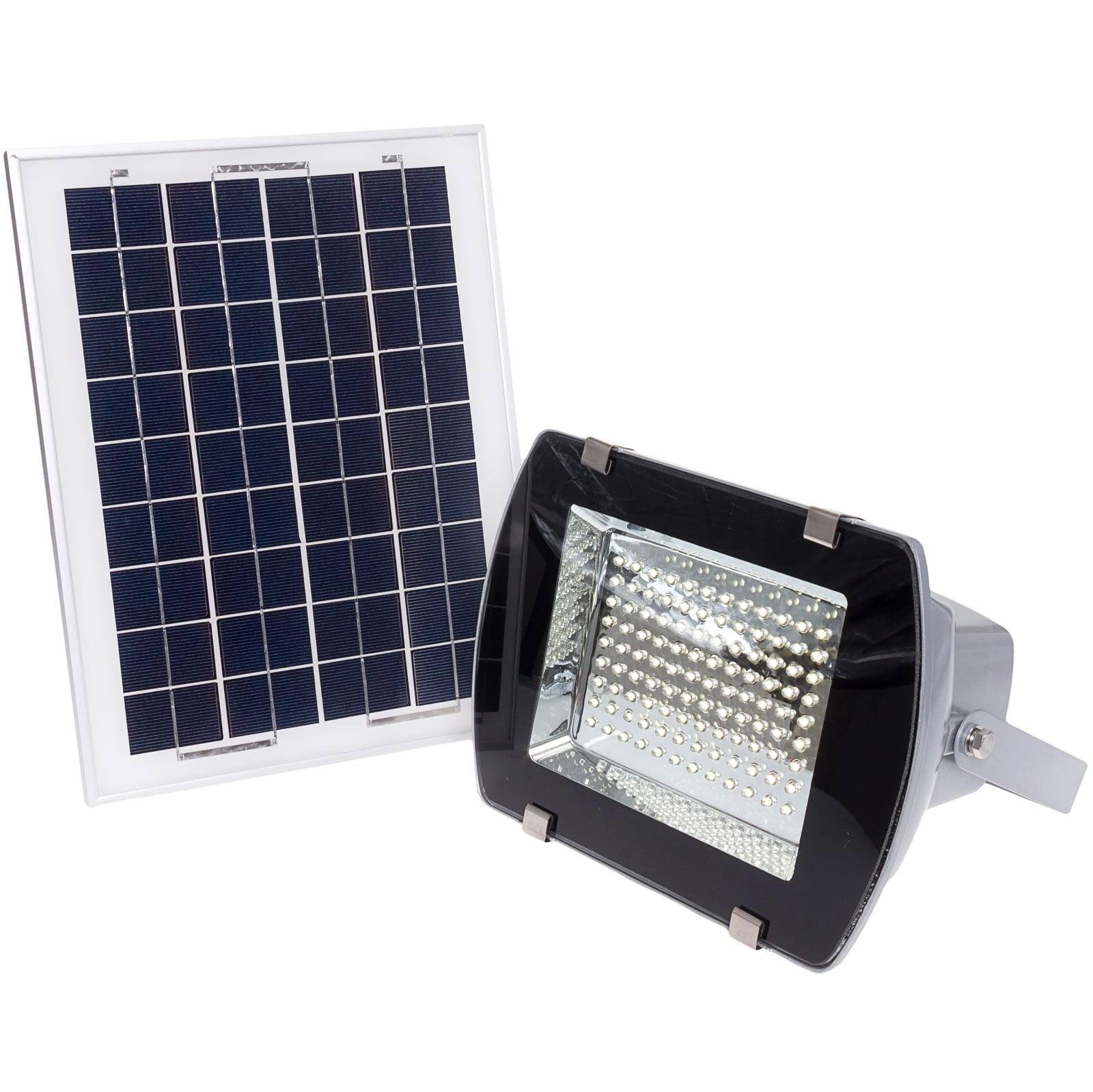108 LED Outdoor Solar Powered Wall Mount Flood Light