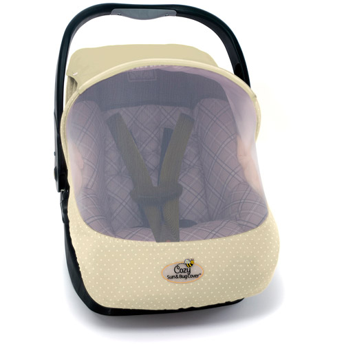 EVC Cozy Sun and Bug Protection Carrier Cover, Beige