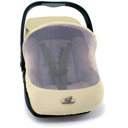 Cozy Sun Bug Cover Car Seat