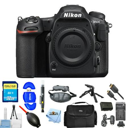 Nikon D500 DSLR Camera (Body Only)!! PRO BUNDLE BRAND