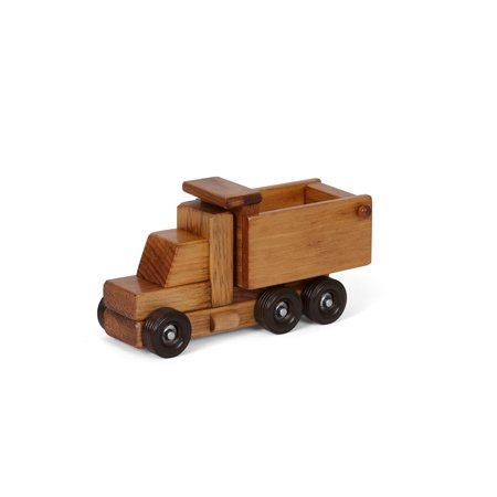 Wooden Toy Truck - AmishToyBox.com Wooden Dump Truck Toy, CPSIA Kid Safe Finish