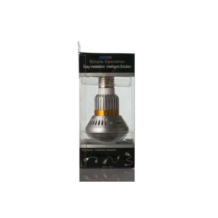 Motion Detect Nightvision Mini Fake Light Bulb w/ Camera - image 6 of 9