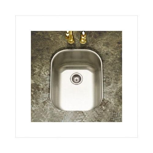 Bundle-71 Houzer Club Undermount Medium Bar/Prep Sink in Satin (2 Pieces)