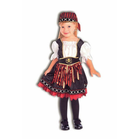 Toddler Lil Pirate Cutie - Princess Pirate Costume Toddler