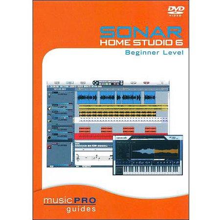 sonar home studio 6 beginner level. Black Bedroom Furniture Sets. Home Design Ideas