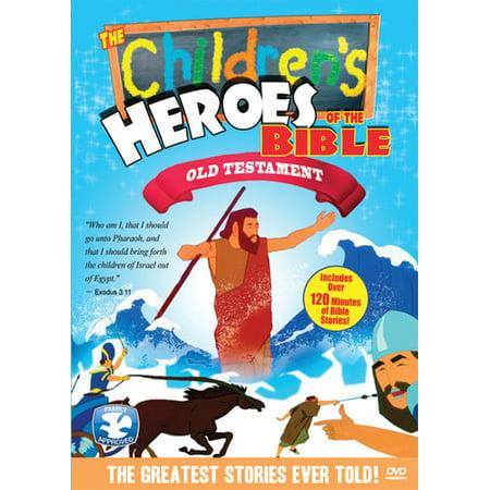 The Children's Heroes of the Bible: Old Testament (DVD) - Top Ten Children's Halloween Movies