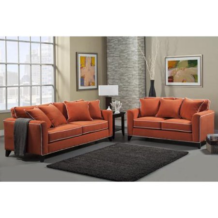 leather decor and living with loveseat room orange inspiration livorno set furniture sofa chair ideas gray