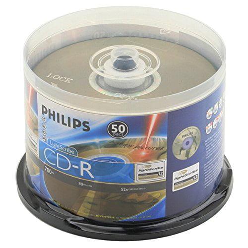 Produplicator Philips Lightscribe Blank Media Disc CD-R 5...