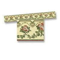 Dollhouse Floral Wallpaper Border (6Pc)
