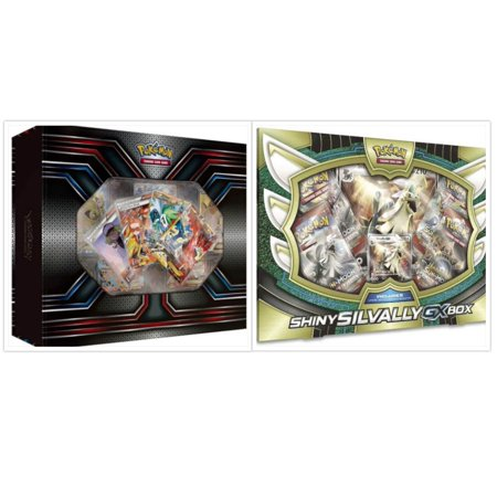 Pokemon TCG The Best of XY Premium Trainer Collection Box and Shiny Silvally Collection Box Card Game Bundle, 1 of (Best Pokemon Rpg Games)