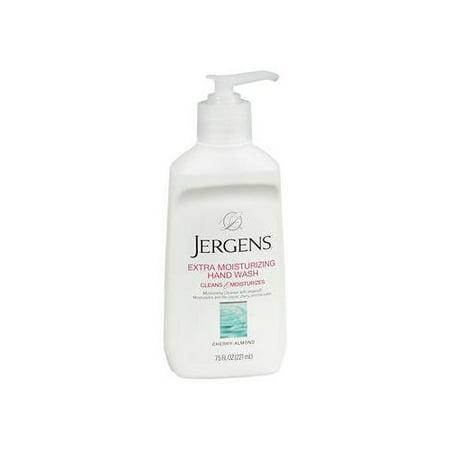 6 Pack Jergens Extra Moisturizing Hand Wash 7.50oz (Natural Moisturizing Hand Wash)