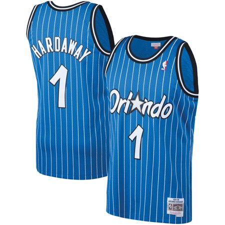 Hardwood Jersey - Penny Hardaway Orlando Magic Mitchell & Ness Big & Tall Hardwood Classics Jersey - Blue