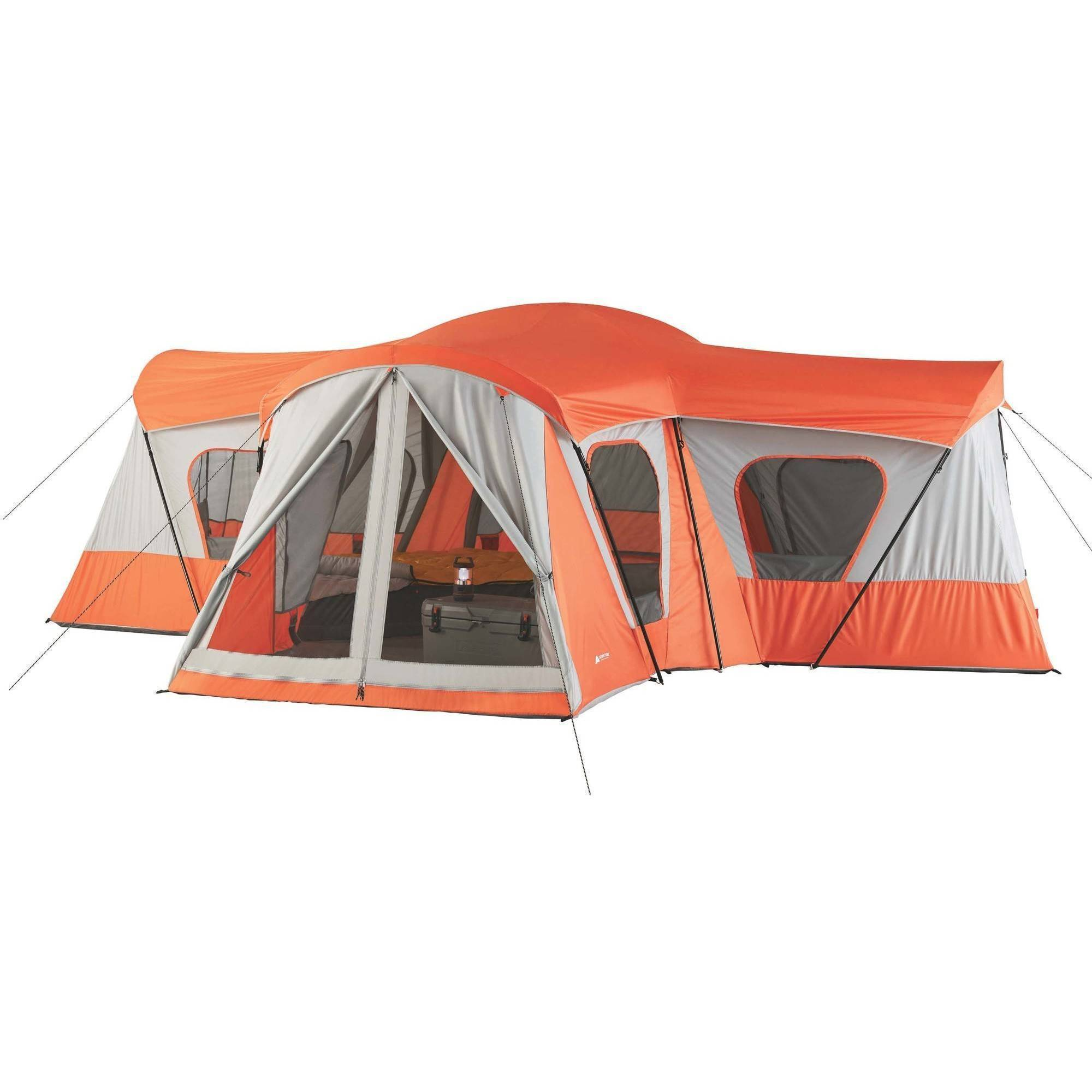 Ozark Trail 14-Person 4-Room Base C& Tent  sc 1 st  Walmart & Ozark Trail 14-Person 4-Room Base Camp Tent - Walmart.com