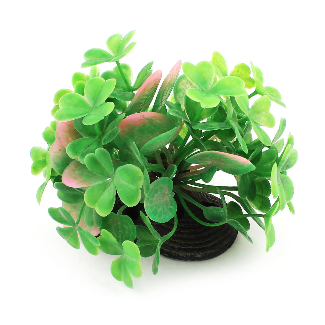 "Aquarium Artificial Green Underwater Aquatic Glass Plant Ornament 3"" High"