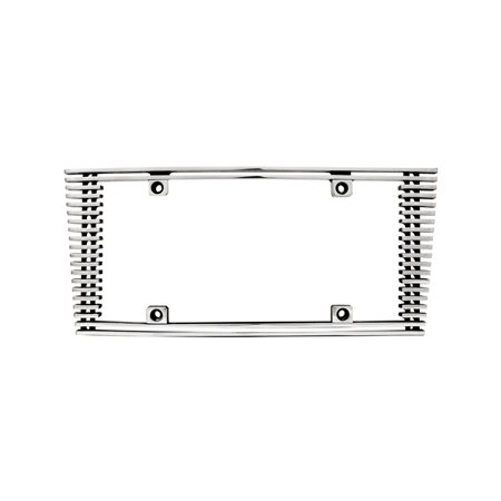 Edge Billet - IPCW CWL-41HC 4mm BILLET LICENSE PLATE FRAME SLOPED EDGE