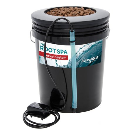Active Aqua Root Spa 5 Gallon Hydroponic Bucket System Grow Kit (4 Pack)