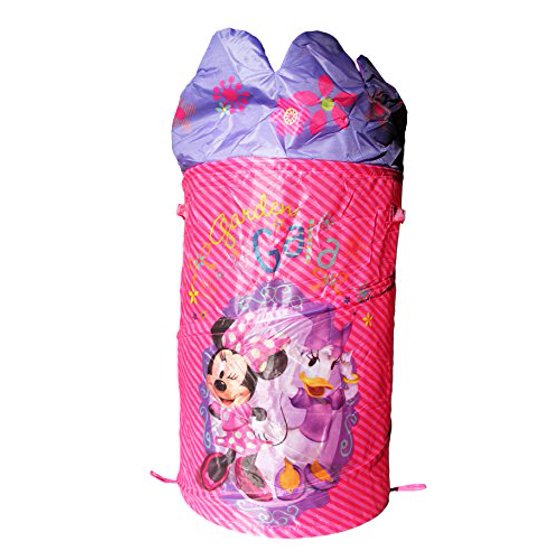disney minnie mouse pop up hamper laundry basket with dome. Black Bedroom Furniture Sets. Home Design Ideas