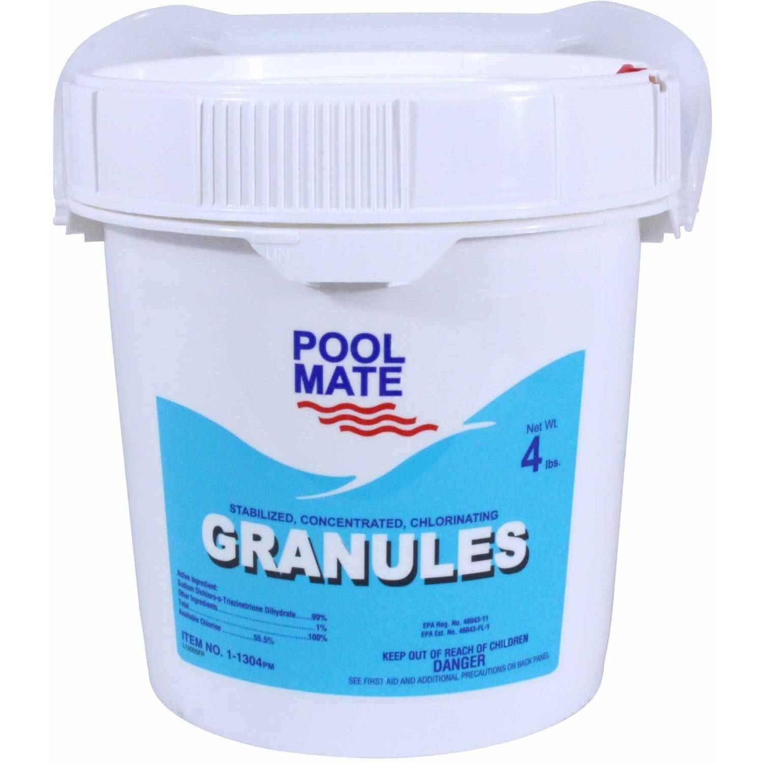 Pool Mate Stabilized/Concentrated/Chlorinating Granules for Swimming Pools