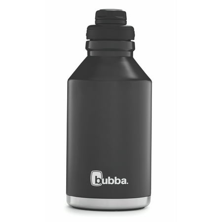 28a67822c2 Bubba 64 Ounce Licorice Vacuum Insulated Stainless Steel Tumbler -  Walmart.com