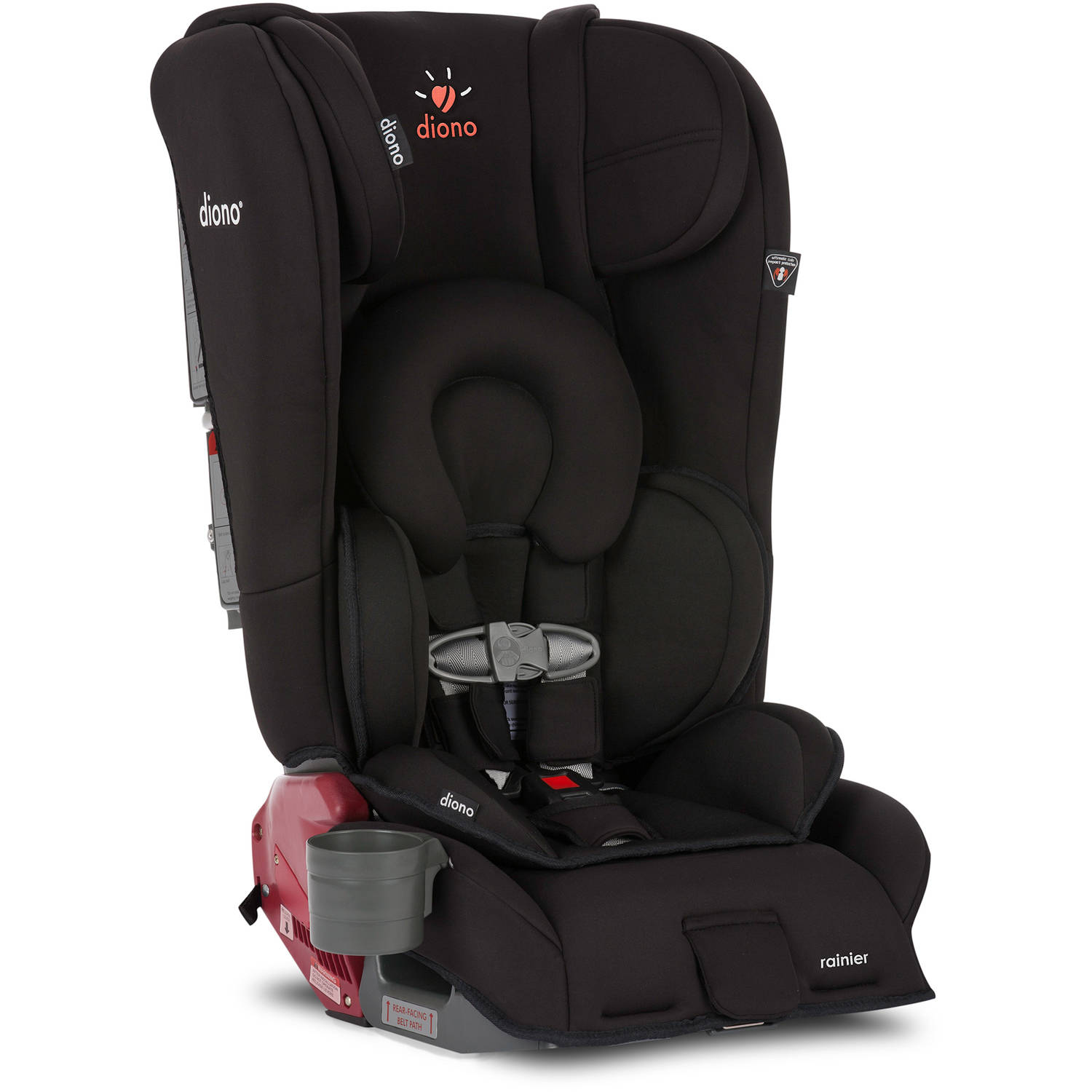 Diono Rainier Convertible Car Seat and Booster, Midnight
