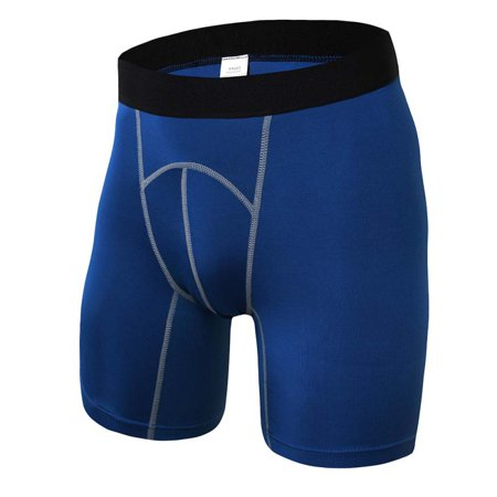 Racing Compression Short - DAILYMALL Men's Shorts Compression Sports Underwear Gym Workout Running Fitness Short Pants