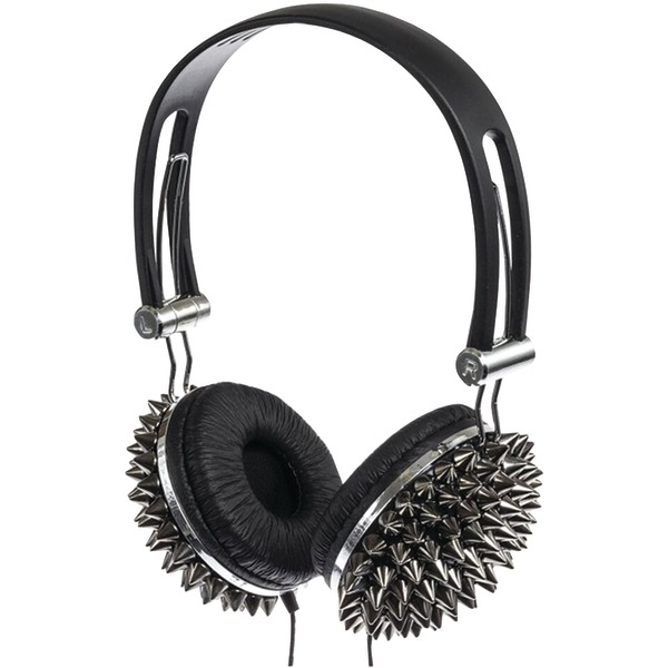 Supersonic IQ-214 SILVER IQ-214 High-Performance Stereo Headphones (Silver)