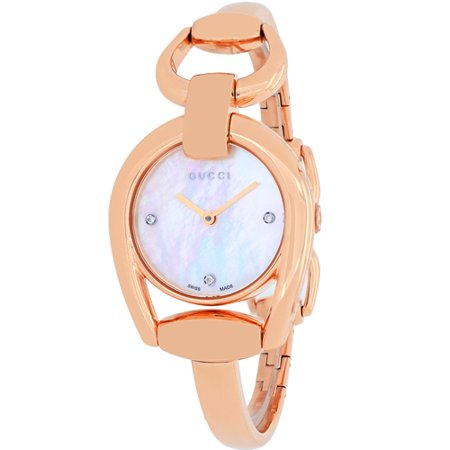 Gucci Women's Horsebit Watch Quartz Sapphire Crystal YA139508