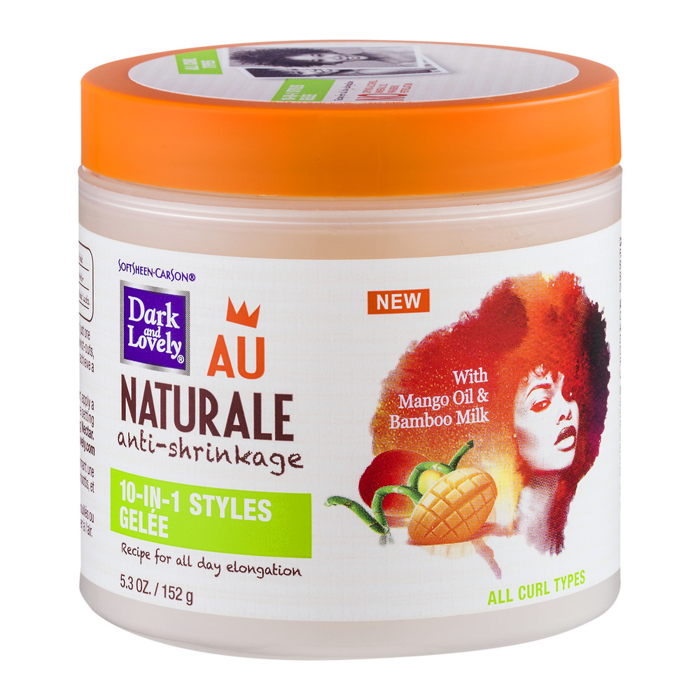 SoftSheen-Carson Dark and Lovely Au Naturale Anti-Shrinkage 10-in-1 Styles Gele