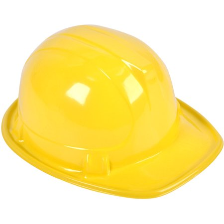 12 Plastic Costume Construction Hard Hat Helmets Costume Accessory