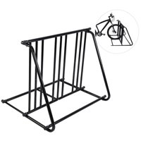 Fugacal Bicycle Holder, Bike Stand,Bike Parking Rack Stand Bicycle Storage Floor Mount Iron Pipe Cycle Holder