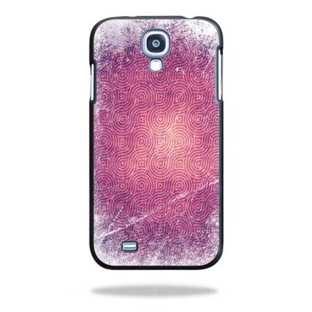 Mightyskins Protective Vinyl Skin Decal Cover for Spigen Ultra Fit Samsung Galaxy S4 Case wrap sticker skins Purple - Purple Swirl