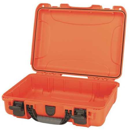 NANUK CASES Protective Case,14-19/64 in. L,Orange 910-0003