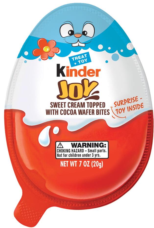 Kinder Joy Easter Egg Candy, 7 Oz.