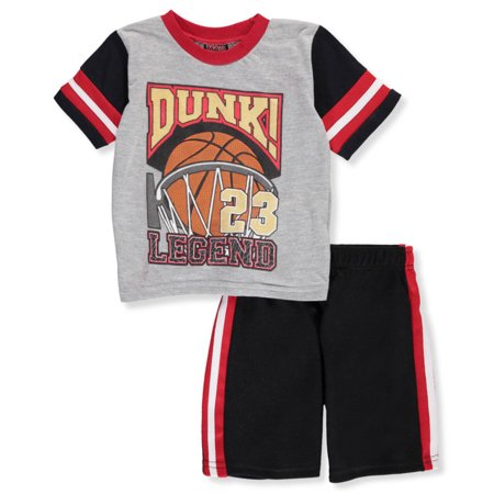 ac90e12d8be7 Mad Game - Little Boys  Toddler 2-Piece Short Set Outfit (Sizes 2T - 4T) -  Walmart.com