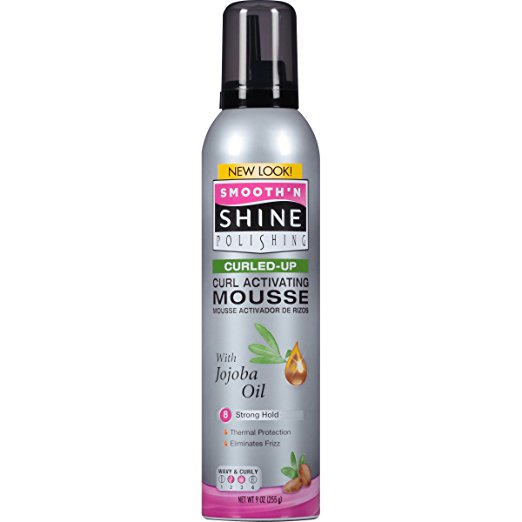 Smooth N Shine Curling Mousse, 9-Ounce