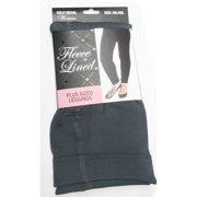 GMI Ladies Queen Sized Fleece Lined Leggings - Solids Womens 362L-SLQ-GREY