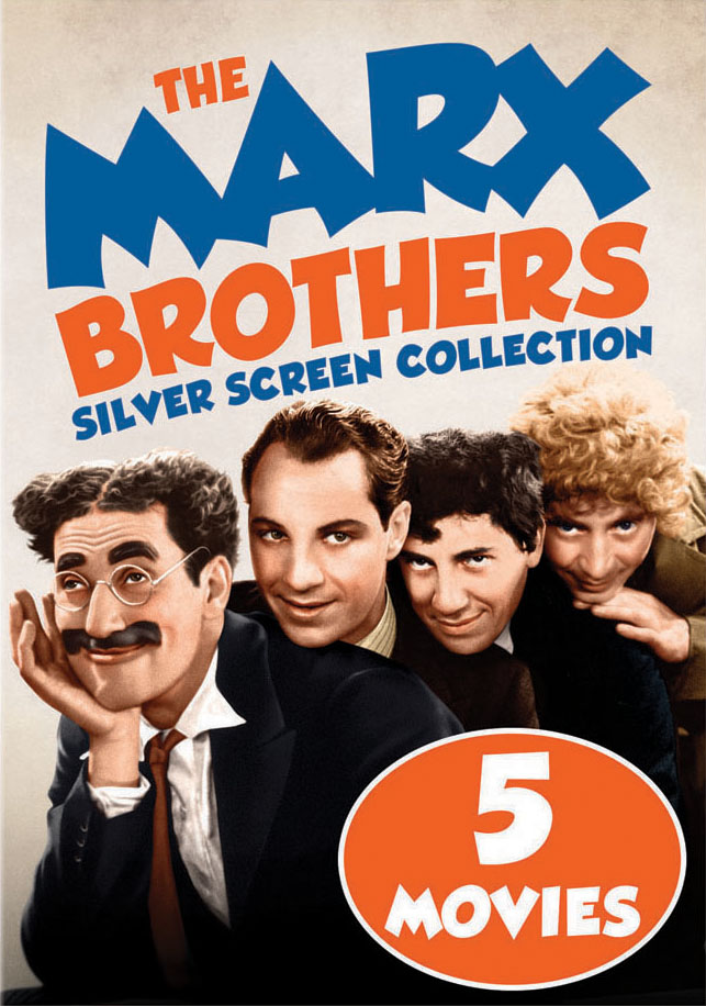 The Marx Brothers Silver Screen Collection (DVD) by Universal Studios Home Video