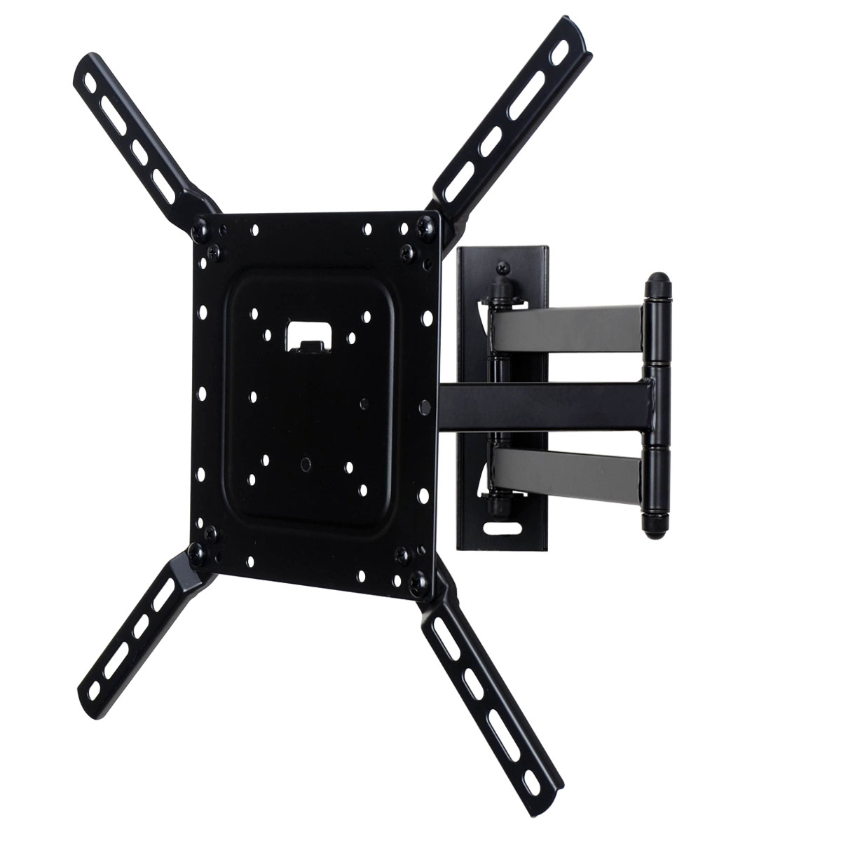 VideoSecu Articulating TV Wall Mount for 24-50 Toshiba Phillips Sansui LCD LED HDTV Bracket - VESA 400x400/200x200mm CB6