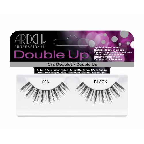(3 Paquets) ARDELL Double Up Lashes - Black 206