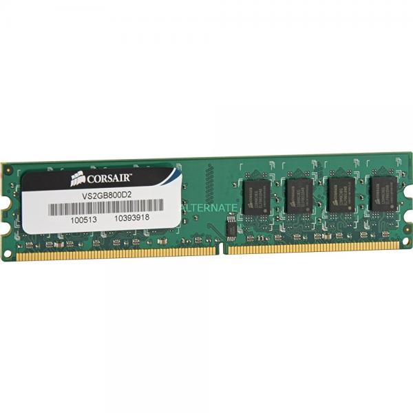 Corsair 2GB (1x2GB) DDR2 800 MHz (PC2 6400) Desktop Memory