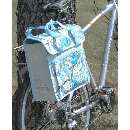 FASTRIDER SHOPPER PEONY Bike Pannier Bag Sand 17.5L Water Resistant Single NEW