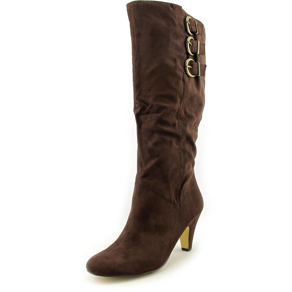 Click here to buy Bella Vita 50-4806 Women Round Toe Synthetic Brown Knee High Boot by Bella Vita.