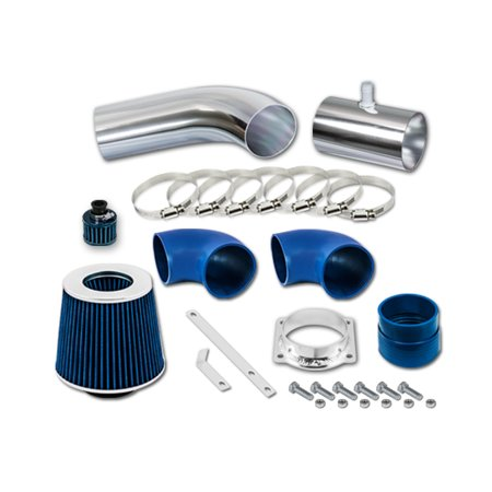 RL Concepts Blue Short Ram Air Intake Kit + Filter 96-02 Mercury Grand Marquis All Model with 4.6L V8