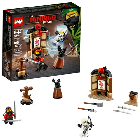 LEGO Ninjago Movie Spinjitzu Training 70606 (109 - Lego Ninjago Masters Of Spinjitzu Kai