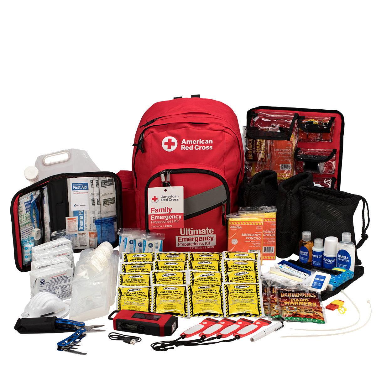 Emergency Preparedness Deluxe 3-Day Backpack